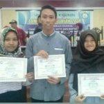 Juara Debat Ilmiah, Grup Debat Sasing Panen Hadiah